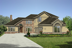 The Kingston Is A First Floor Master Bedroom Plan, Island Kitchen With  Vaulted Ceiling And Is Open To The Great Room, Formal Dining Room, Den And  Upstairs ...
